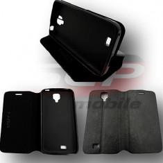 Toc FlipCover Stand ZTE Blade G Lux - Husa Telefon, Negru