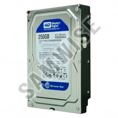 Hard Disk 250GB WESTERN DIGITAL, SATA2, 7200rpm, WD2500AAJS BLUE... Garantie !!!, 200-499 GB, 8 MB
