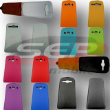 Toc piele FlipCase DELUXE Samsung I9300 Galaxy S III / I9300I Galaxy S3 Neo, Samsung Galaxy S3, Alb