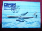 Maxima Avion TAROM Boeing 707