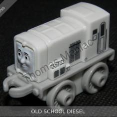 Fisher Price - Thomas and Friends Minis - trenulet jucarie OLD SCHOOL DIESEL, Metal, Unisex