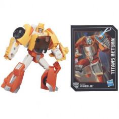 Figurina Transformers Titans Return Wheelie - Figurina Povesti Hasbro