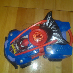Masinuta Spider Man, Marvel, Silverit, 34*20*12 cm Altele