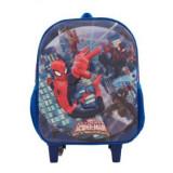 Ghiozdan Spiderman 3D pentru gradinita sau scoala, Unisex, Albastru