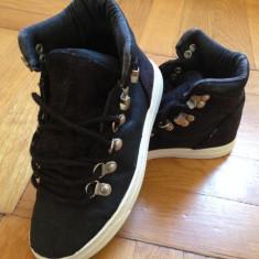Pantofi sport ZARA girls masura 29 - Ghete copii Zara, Culoare: Negru