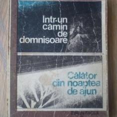 Anisoara Odeanu - Intr-un camin de domnisoare - Calator din noaptea de ajun - Roman, Anul publicarii: 1985
