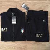 Trening barbati EMPORIO ARMANI EA7 ITALIA, Marime: L, XL, Culoare: Negru, Bumbac