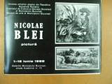 Nicolae Blei pictura expozitie galeriile municipiului Bucuresti 1988
