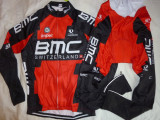Echipament ciclism BMC complet iarna toamna set NOU bluza pantaloni