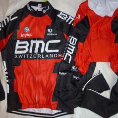 Echipament ciclism complet iarna toamna BMC set cu thermal fleece