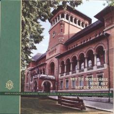 SET MONETARIE 2012-100 ANI DE LA INCEPEREA CONSTRUCTIEI MUZEULUI TARANULUI ROMAN - Moneda Romania