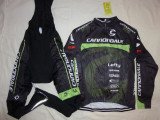 Echipament ciclism complet iarna toamna Cannondale factory  racing 2017 set, Tricouri