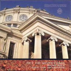 SET DE MONETARIE 2011: 125 DE ANI DE LA INCEPEREA CONSTRUCTIEI ATENEULUI ROMAN - Moneda Romania