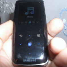 MP4 PLAYER SAMSUNG YP-S3 4 GB PERFECT FUNCTIONAL BATERIA MINIM 15 ORE - Mp4 playere Samsung, Negru