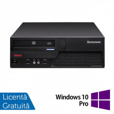 Lenovo ThinkCentre M58p Desktop, Intel Core 2 Duo E8400, 3.0Ghz, 4Gb DDR3, 250Gb HDD, DVD-RW + Windows 10 Pro - Sisteme desktop fara monitor Ibm
