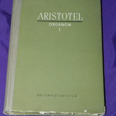 Aristotel - Organon vol I (s2512 - Carte Filosofie