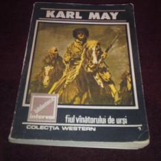 KARL MAY - FIUL VANATORULUI DE URSI - Carte de aventura