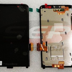LCD+Touchscreen cu Rama BlackBerry Z30/4G BLACK original - Display LCD