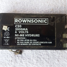 ACUMULATOR CAMERA VIDEO MODEL ROWNSONIC C 20 - Baterie Camera Video
