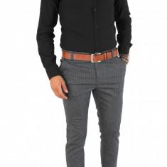 Camasa tip Zara bumbac neagra - camasa barbati - COLECTIE NOUA - 7120, Marime: S, M, L, XL, Culoare: Din imagine, Maneca lunga
