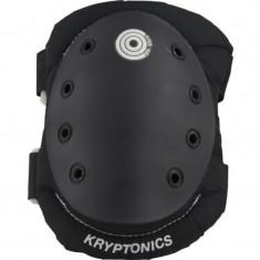 Genunchiere si cotiere Kryptonics Black Medium/Large