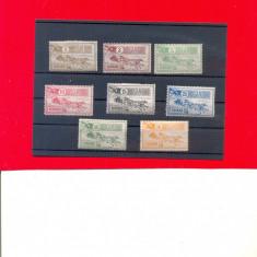 RO-0024=ROMANIA 1903=CAISORII, serie de 8 timbre nestampilate cu sarniera. - Timbre Romania