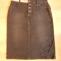 Fusta blugi Esprit Jeans: marime 40, vezi dim.; 2% elastan; impecabila, ca noua, Culoare: Din imagine