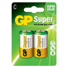2 GP LR14 C Super Alkaline Battery BL191 - Baterie Aparat foto