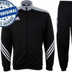 Trening barbat Adidas Sereno - trening original - treninguri pantaloni conici - Trening barbati Adidas, Marime: S, M, L, XL, Culoare: Negru, Poliester
