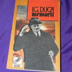 I G Duca - Memorii vol I Neutralitatea Partea I 1914-1915 (4511 - Biografie