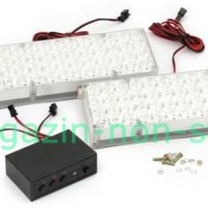 Stroboscop Auto Cu 96 LED uri Galben 12V - Girofar Auto