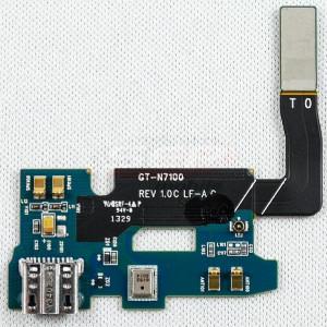Banda cu conector incarcare si microfon Samsung Galaxy Note II N7100 Original