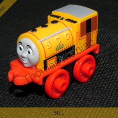 Fisher Price - Thomas and Friends Minis - trenulet jucarie BILL, Metal, Unisex