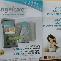 Angelcare Videofon si monitor de respiratie AC 1100 - Baby monitor
