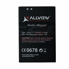Acumulator Allview A5 Quad original, Li-ion
