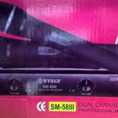 Set microfoane wireless karaoke WVNGR doua microfoane la pachet - Microfon Altele