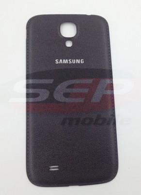 Capac baterie Samsung Galaxy S4 I9500 / i9505 piele BLACK EDITION nou foto