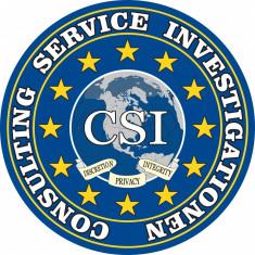 Agentia de detectivi si investigatii Consulting Service Investigationen