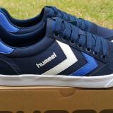 Adidasi HUMMEL_cu piele_adidasi barbati_in cutie_39_livrare gratuita