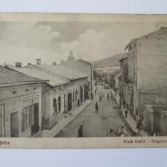 RARITATE! CARTE POSTALA CIRCULATA VIJNITA-BUCOVINA, PIATA UNIRII 1928 - Carte Postala Bucovina 1904-1918, Printata