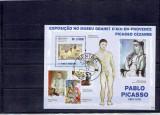 Sao Tome - Picasso - picturi, Arta, Stampilat