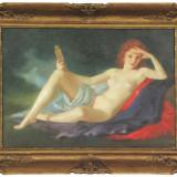tablou nud original cu acte MARIA SZANTHO