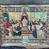 LITOGRAFIE CATOLICA -JUDECATA LUI ISUS