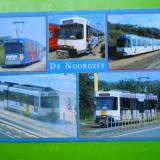 HOPCT 25710 BELGIA DE NOORDZEE / TRAMVAI -TRANSPORT-NECIRCULATA, Printata