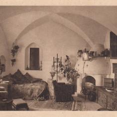 CASTELUL BRAN, INTERIOR, COLECTIA C. STEFANOVICI - Carte postala tematica, Necirculata, Printata