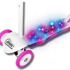 Trotineta pentru copii cu 3 roti si punte iluminata Ozbozz - Trotineta copii