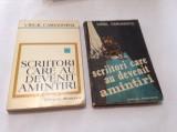 VIRGIL CARIANOPOL SCRIITORI CARE AU DEVENIT AMINTIRI,RF12/3