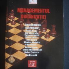 STEFAN NEDELEA - MANAGEMENTUL ORGANIZATIEI - Carte Management