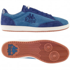 Adidasi originali barbati KAPPA_piele naturala_40, 41, 42, 43, 44_livrare gratuita - Adidasi barbati Kappa, Culoare: Albastru