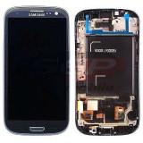 LCD+Touchscreen cu Rama Samsung Galaxy S3 Neo 9308I BLUE original